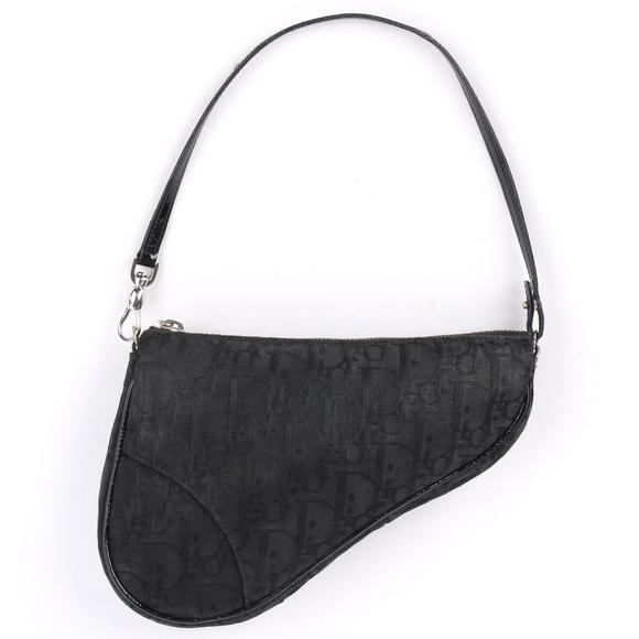 eeff87f0cb79 Dior Handbags - Christian Dior Monogram Canvas Saddle Bag